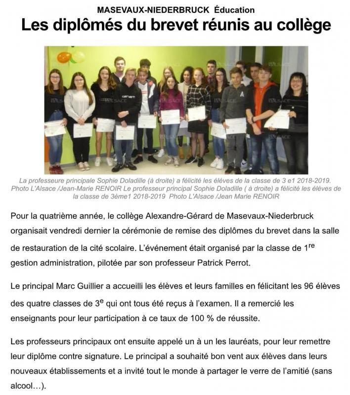 Article college