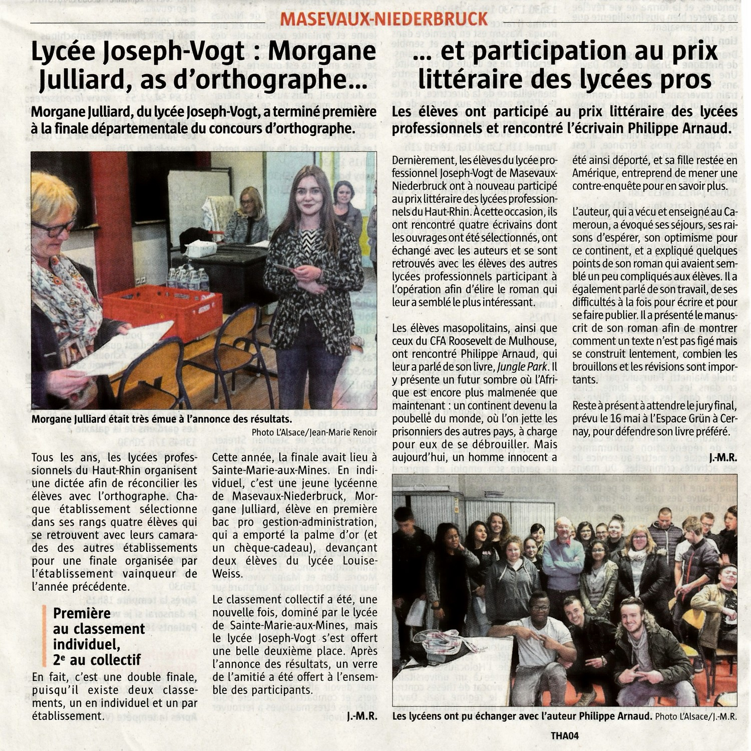 Article concours d orthogrphe