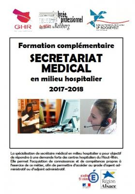 Secretariat medical mulhouse 2017